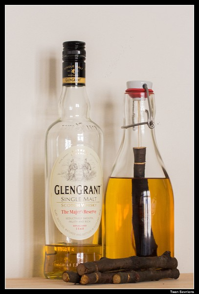 Glen Grant with Cherry Stick